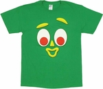 Gumby Face T Shirt