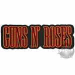 Guns N Roses Die Cut Name Patch