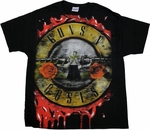 Guns N Roses Logo T Shirt