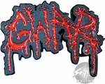 Gwar Cut Name Buckle