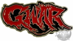 GWAR Name Belt Buckle