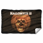 Halloween II Poster Sub Fleece Blanket