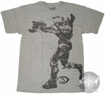 Halo 3 Spartan Pointing T-Shirt
