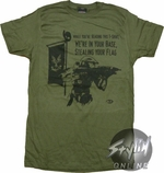 Halo 3 Steal Flag T-Shirt Sheer