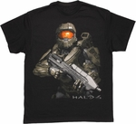 Halo 4 Armed Chief T Shirt