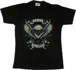 Halo ODST Helljumpers Wings T Shirt Sheer