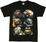 Halo Reach Boxes T Shirt