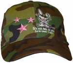 Happy Bunny Camouflage Junior Hat
