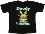 Happy Bunny Doody Toddler T-Shirt