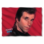 Happy Days Red Fonz Pillow Case