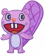 Happy Tree Friends Toothy Patch