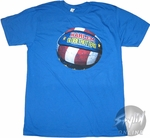 Harlem Globetrotters Ball T-Shirt Sheer