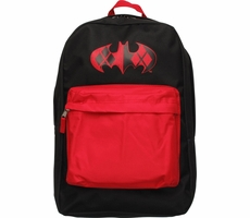 Harley Quinn Distressed Batman Logo Backpack Shirt of the Day
