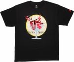 Harley Quinn Glass Sit Circle T Shirt
