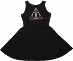 Harry Potter Deathly Hallows A Line Dress