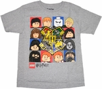 Harry Potter Lego Boxes Youth T Shirt