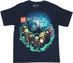 Harry Potter Lego Group Youth T Shirt