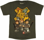 Harry Potter Lego House Youth T Shirt