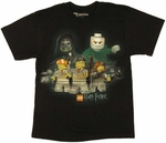 Harry Potter Lego Wand Youth T Shirt