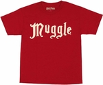 Harry Potter Muggle Youth T Shirt