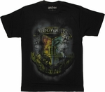 Harry Potter Smoky Crest T Shirt Sheer