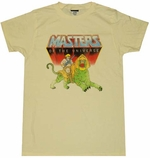 He-Man and Battle Cat T-Shirt Sheer
