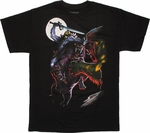 He Man Mounted Battle T Shirt