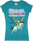 He Man She Ra Swift Wind Baby Tee