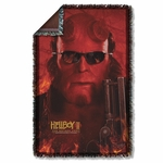 Hellboy II Big Red Throw Blanket