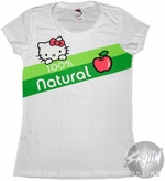 Hello Kitty 100 Natural Baby Tee