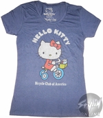 Hello Kitty Bicycle Baby Tee