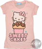 Hello Kitty Cakes Baby Tee