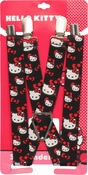 Hello Kitty Face Bows Suspenders