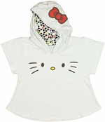 Hello Kitty Face Junior Hoodie