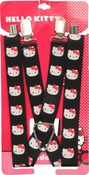 Hello Kitty Faces Black Suspenders