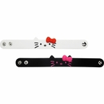 Hello Kitty Faces Rubber Wristband Set