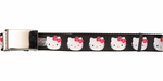 Hello Kitty Faces Wink Blink Mesh Belt