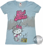 Hello Kitty Feel the Beat Baby Tee