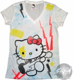 Hello Kitty Guitar Baby Tee