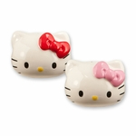 Hello Kitty Heads Salt Shaker Set
