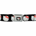 Hello Kitty Heads Seatbelt Mesh Belt