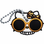 Hello Kitty Leopard Bow Key Cap Keychain