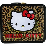 Hello Kitty Leopard Print Lunch Box