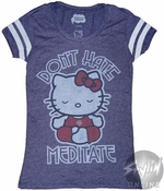 Hello Kitty Meditate Baby Tee