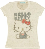 Hello Kitty Name Baby Tee