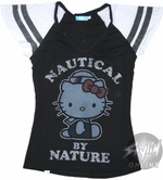 Hello Kitty Nautical Nature Baby Tee