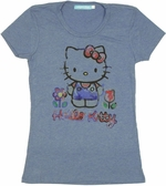 Hello Kitty Paint Baby Tee