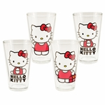 Hello Kitty Pint Glass Set
