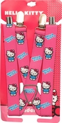 Hello Kitty Polka Dots Pink Suspenders