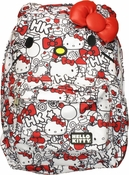 Hello Kitty Red White Collage Backpack